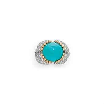 Jean Schlumberger Turquoise Diamond Ring