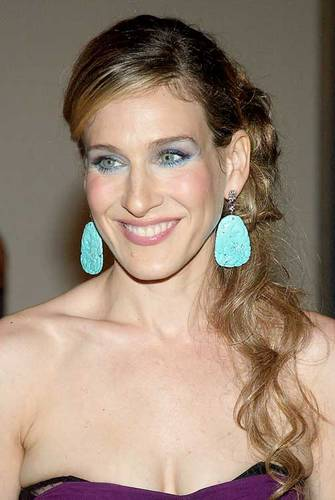 SJP turq earrings