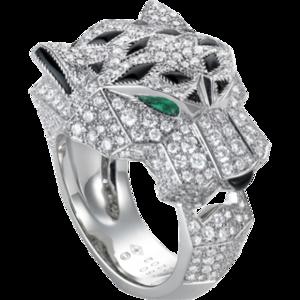 Cartier Panthere Diamond Ring Price