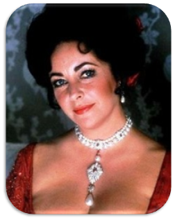 Elizabeth Taylor - peregrina pearl